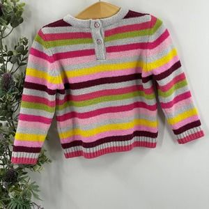 Joules   Multicolor Striped Button Sweater, 2